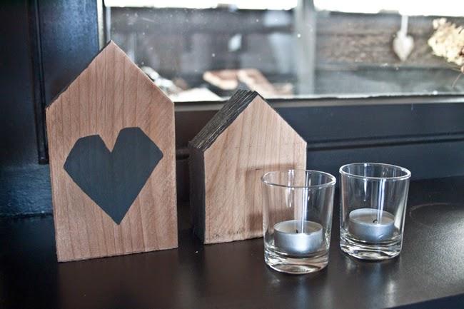 Eigenhandig diy houten huisjes - Interieur houten huisje ...