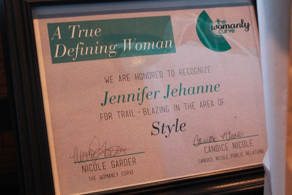 408 - Honored as an Influential Woman of Style in DC; Your Womanly Curve Magazine