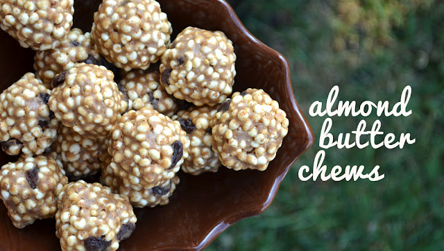 Got 10 minutes? Whip up these healthy almond butter chews with just a few ingredients. Get creative with your add ins! Your options are endless.