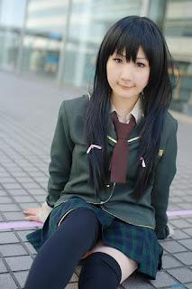 Mikazuki Yozora cosplay by Shiina Haru
