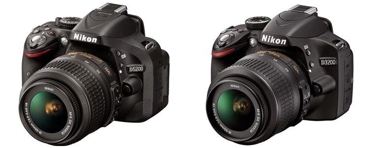 Nikon D5200 dan D3200