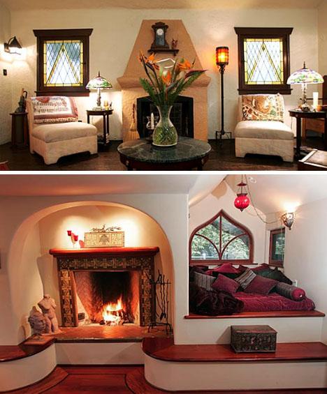 House blogger fairytale home for Storybook designer homes