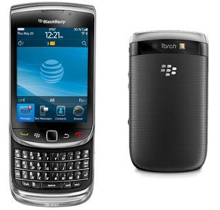 Cara Upgrade OS Blackberry Torch 9800