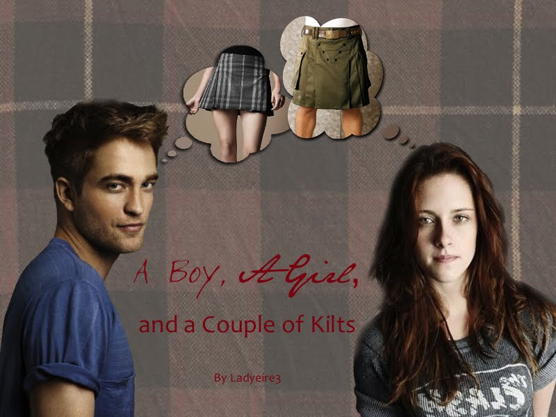A Boy, a Girl, and a Couple of Kilts
