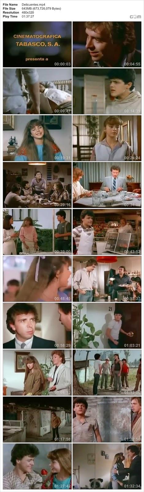 Descargar Peliculas Mexicanas Pedro Fernandez Lucerito Delincuente DVDRip 1984