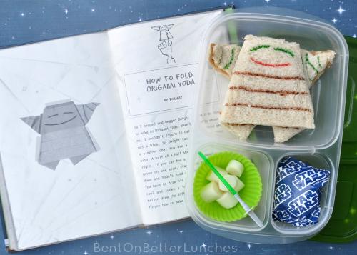 Origami Yoda Bento Lunch