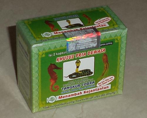 jamu herbal tangkur cobra kapsul info jamu