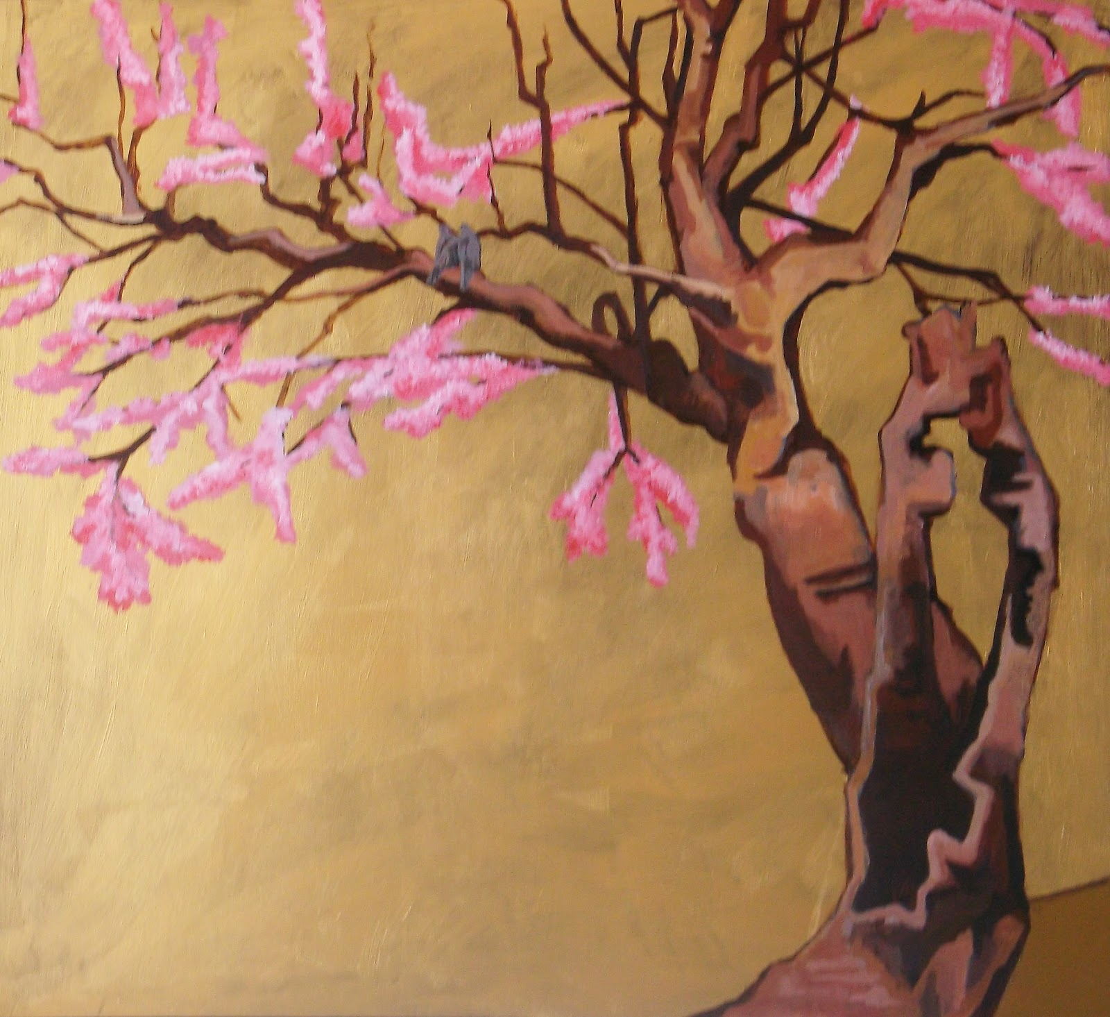 Wall Mural   First Cherry Blossoms