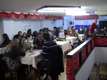 Cena de Confraternidad.