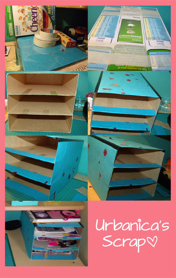 Urbanica 39 s scrap reciclando 2 organizador de retazos de - Organizador de papeles ...