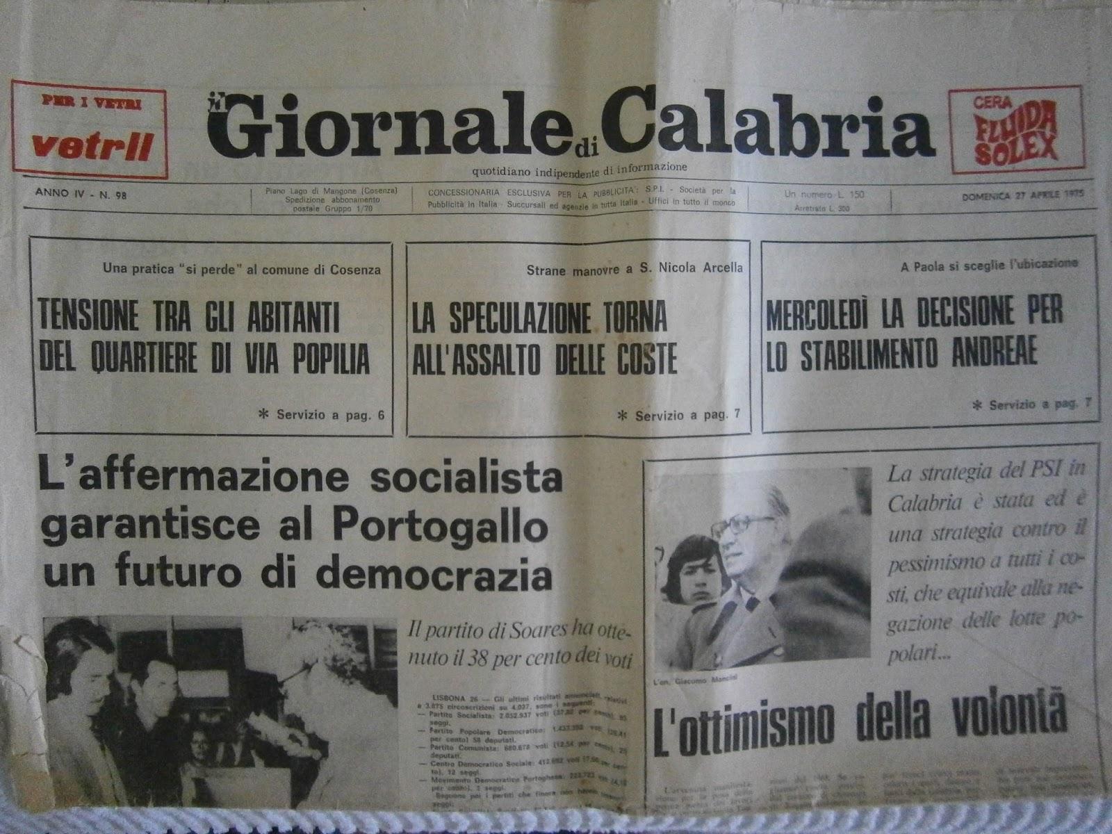giornale di calabria platinum - photo#10