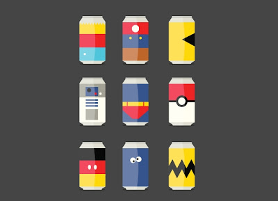 "Threadless ""Pop Culture"" Soda Can T-shirt by David Schwen"