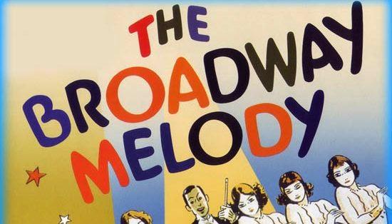 La melodía de Broadway, película