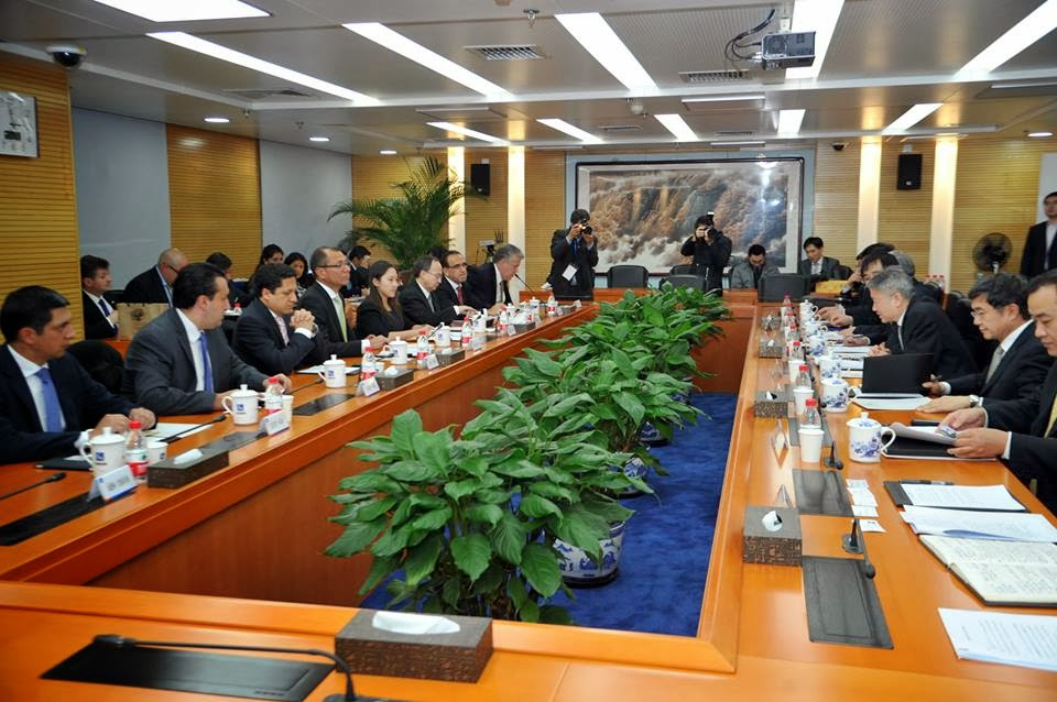 Vicepresidente Jorge Glas se reunió con su homólogo chino, Li Yuanchao