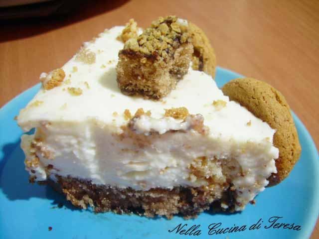 Nella cucina di teresa cheesecake fredda agli amaretti - Nella cucina di teresa ...