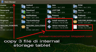 instal firmware android dari micro sd