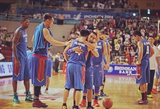 Alapag's last game as a national team player