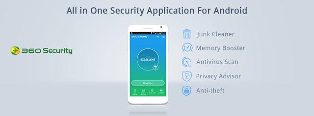 تطبيق 360Security Antivirus Boost  الأفضل لحماية هاتفك وتحسين أداءه لهواتف أندرويد وآيفون