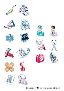 Dibujos de medicina para imprimir