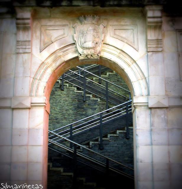 Arco de la plaza de la Cantera