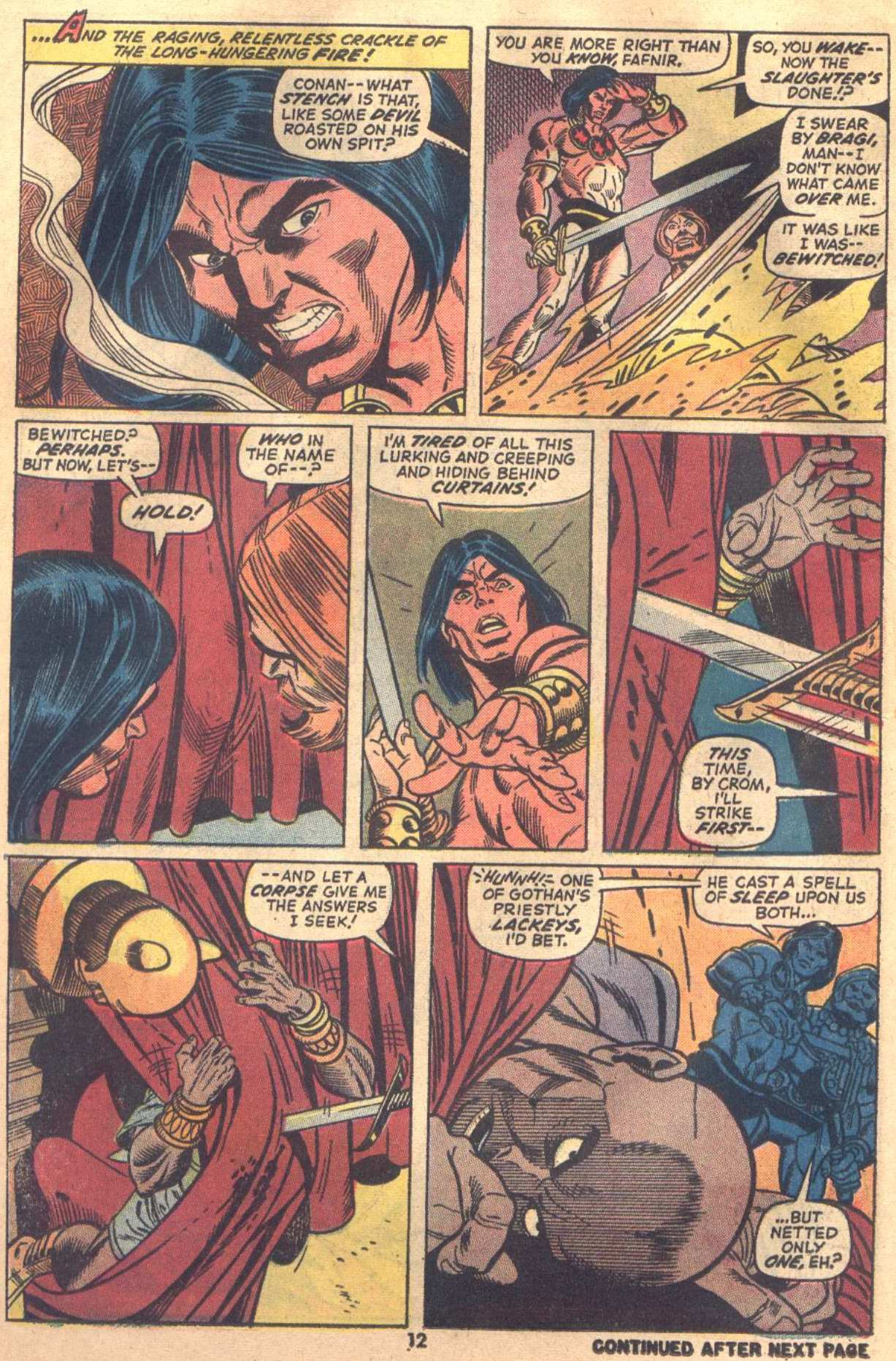 Conan the Barbarian (1970) Issue #18 #30 - English 10