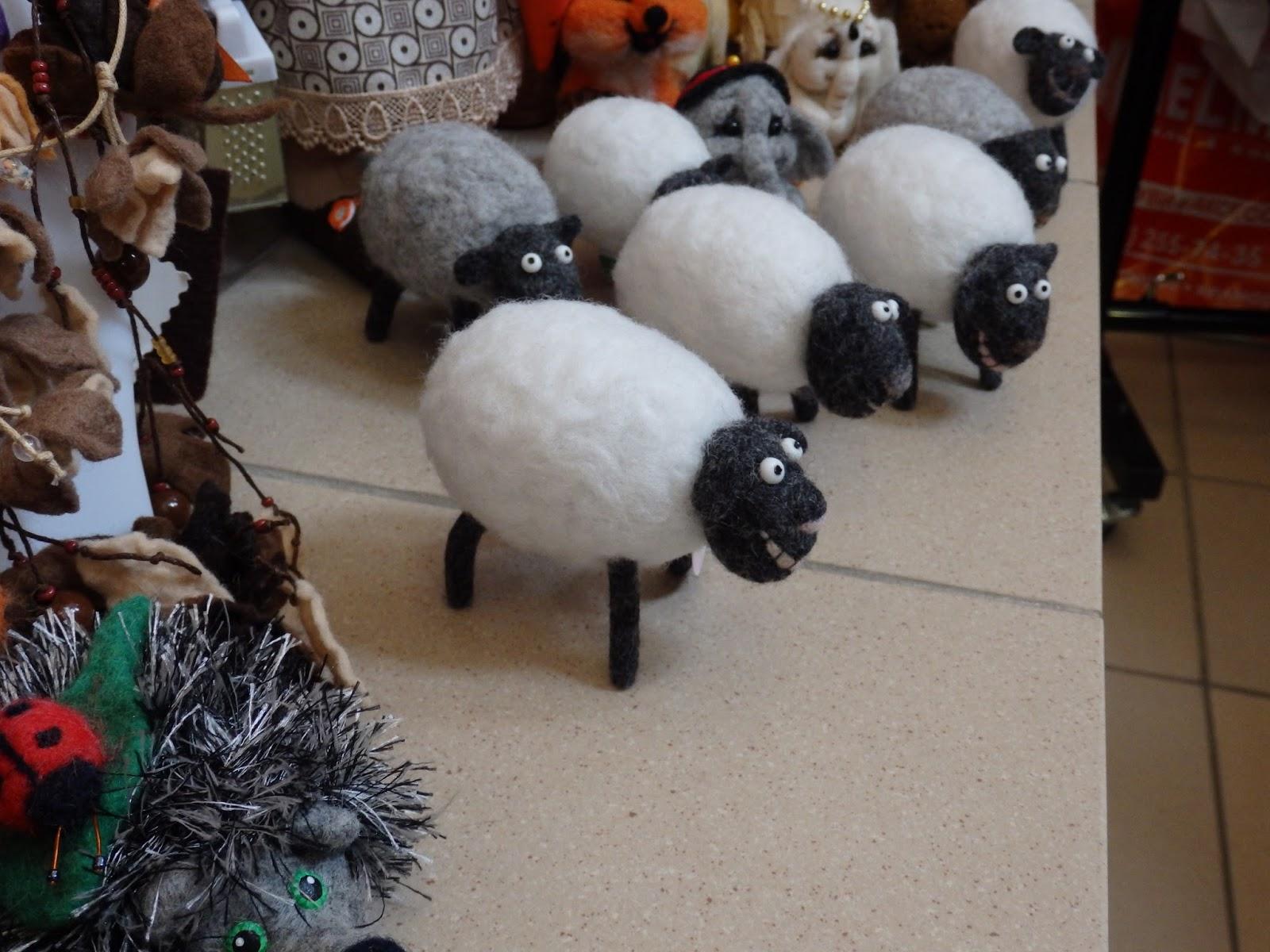 валяние, овечка