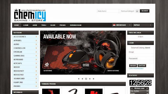 toko online perlengkapan game terpercaya