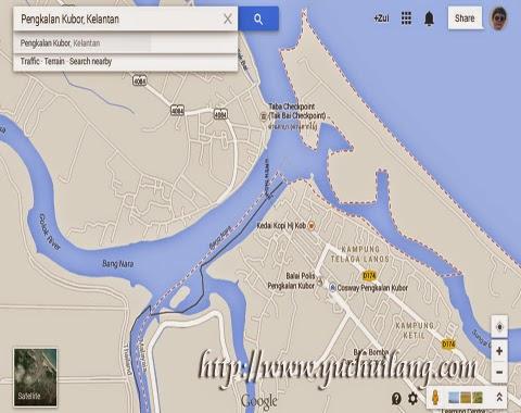 Peta Pengkalan Kubor