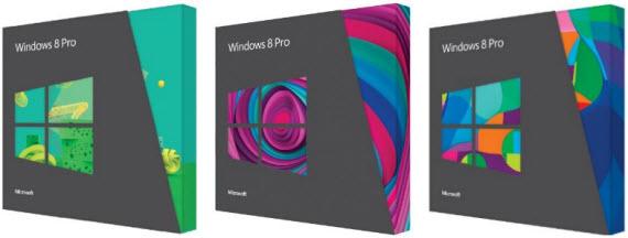 Precios definitivos en Euros de Windows 8
