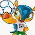 Ausmalbilder von Fußball WM 2014 Maskottchen