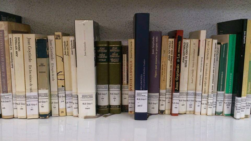 libros de Juan Goytisolo