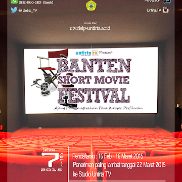 BANTEN SHORT MOVIE FESTIVAL 2015