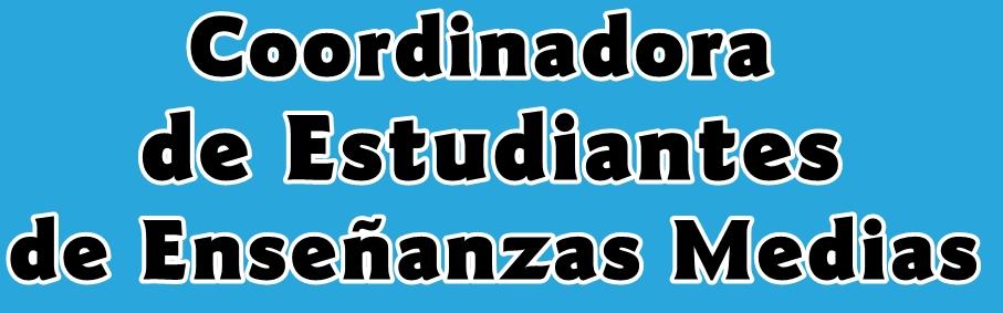 Coordinadora de Estudiantes de Enseñanzas Medias