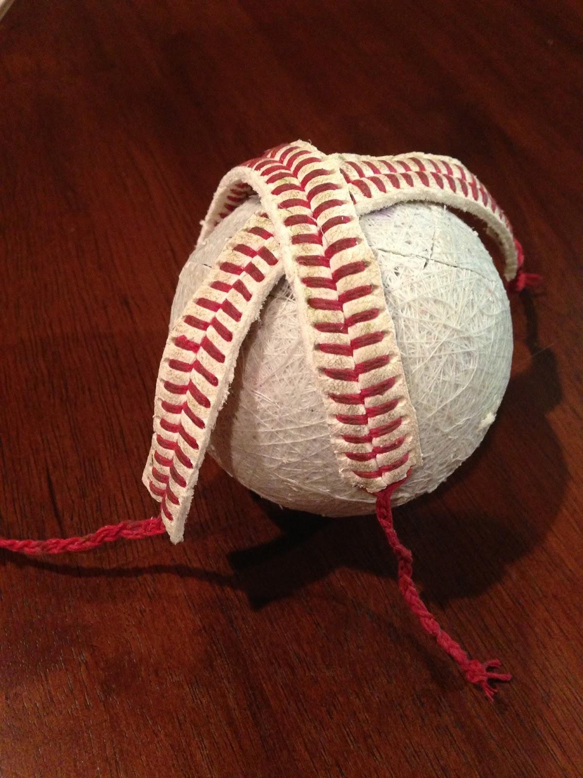 a bolt of baseball bracelet diy
