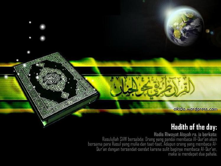 kitab suci ummat muslim diseluruh dunia