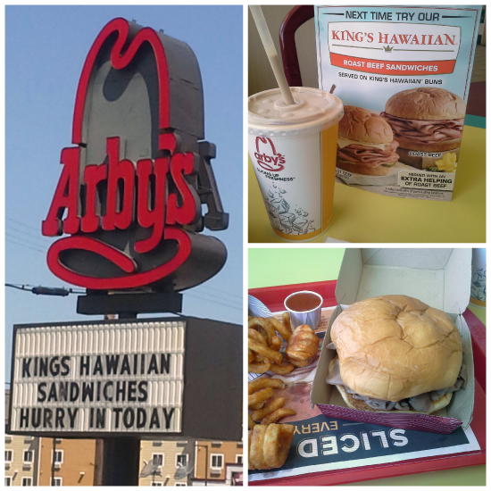 King's Hawaiian Roast Beef Sandwich from @Arbys #RoastBeefatopia | www.girlichef.com