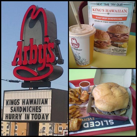 King's Hawaiian Roast Beef Sandwich from @Arbys #RoastBeefatopia | www.girlichef.com