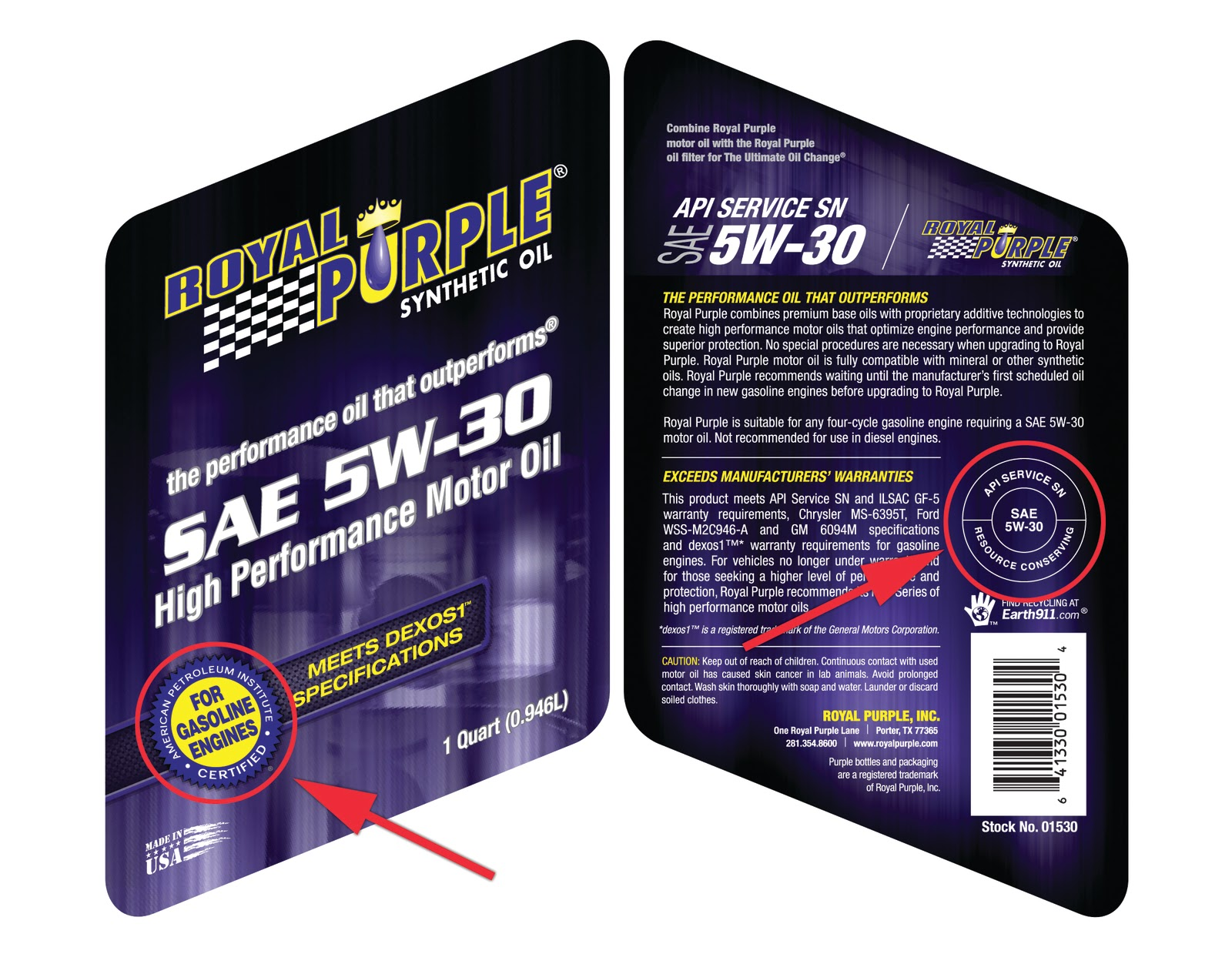 Royal purple powered learn the label lingo selecting the for What is the best motor oil to use