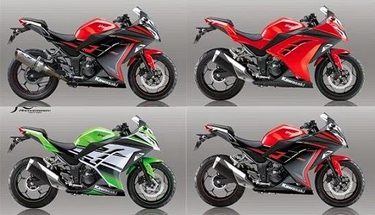 Harga Motor 2015 Kawasaki Ninja 250