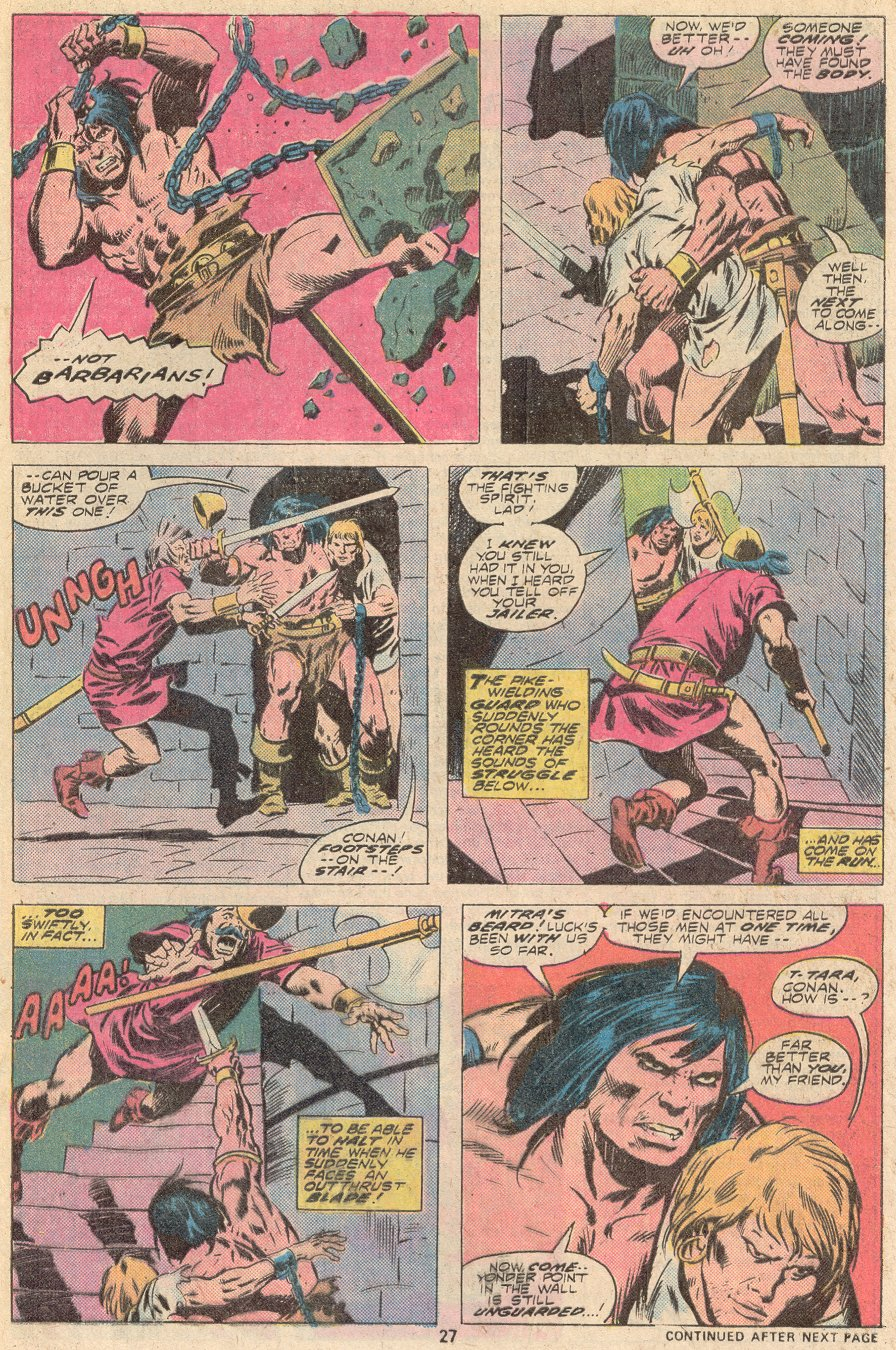 Conan the Barbarian (1970) Issue #67 #79 - English 17
