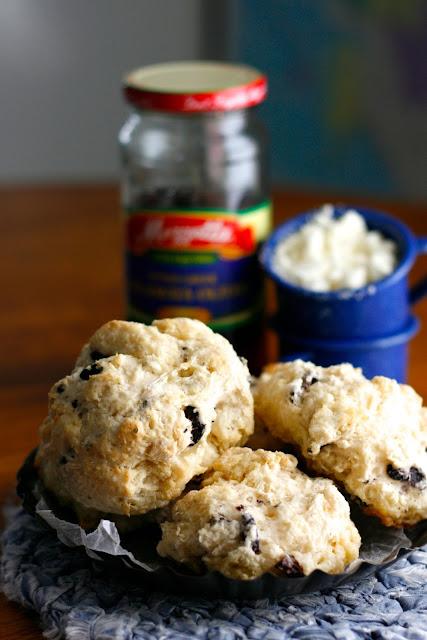Indigo Scones: Greek Drop Biscuits