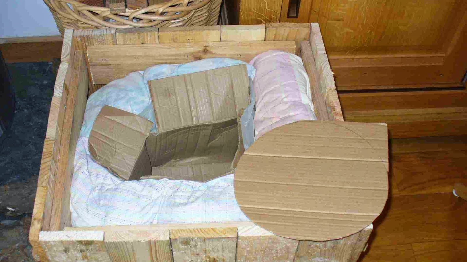 Marmite norv gienne mon amie for Isolation copeaux de bois