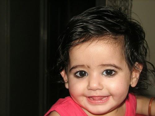 Gambar bayi lucu dan cantik dari india gratis