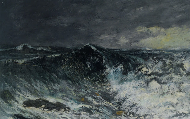 ocean scenery,gustave courbet,5 stars