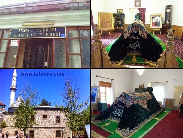 Şems-i Tebrizî Camii ve Türbesi Konya