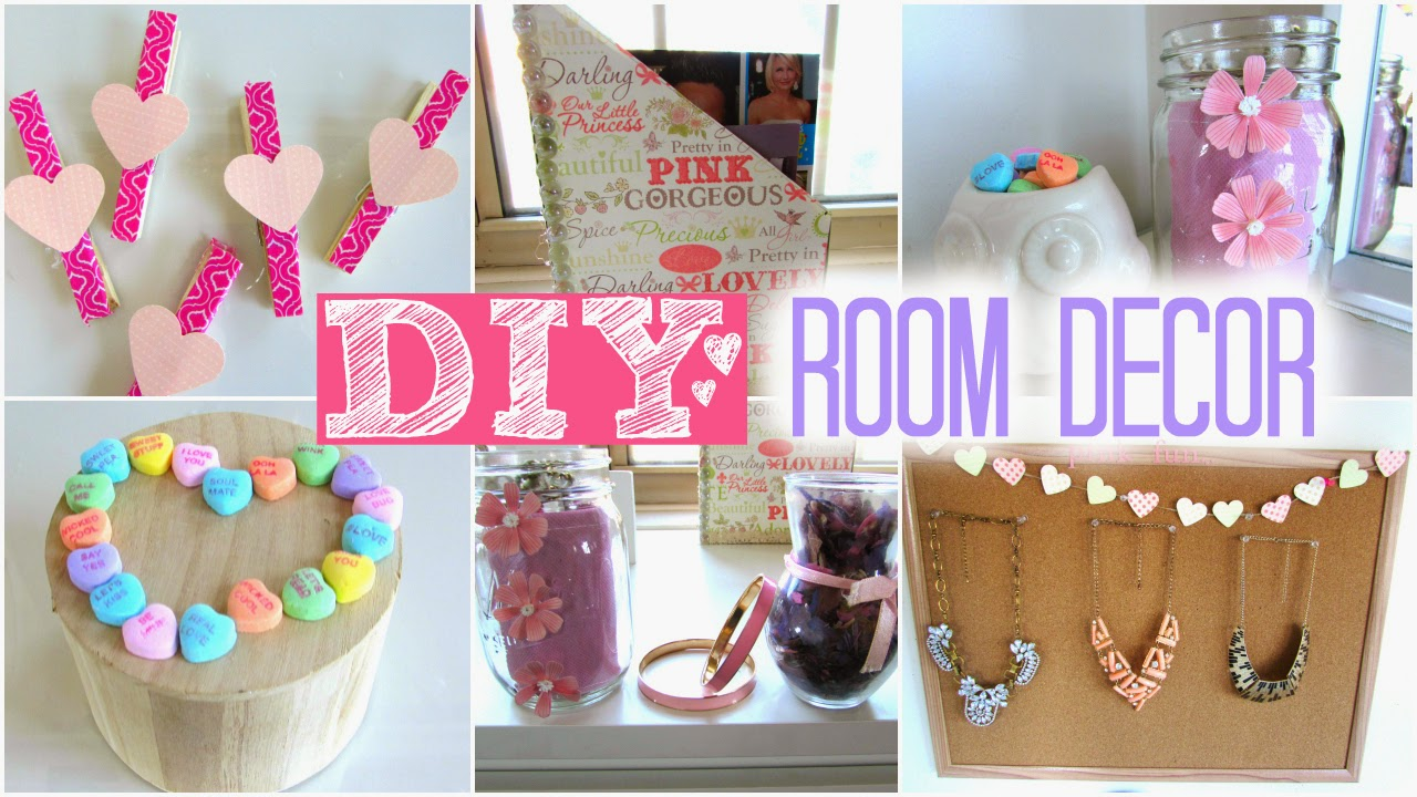 Beauty by genecia diy room decor for valentine 39 s day for Cute easy diy bedroom ideas