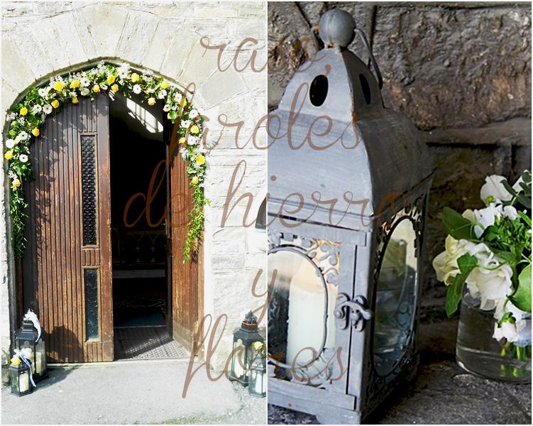 Decoracion Iglesia Boda Velas ~   DIY, DISE?O Y MUCHAS VELAS bodas + vintage iluminando la iglesia