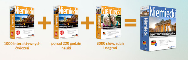 Niemiecki SuperPakiet 3 kursów online