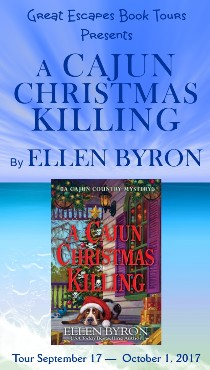 Ellen Byron: here 9/27/17