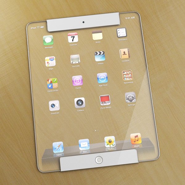 transparent ipad concept awesome cool design creative